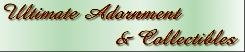 Ultimate Adornment and Collectibles logo